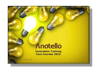 Anatello Innovation Training Course Brochure 2016