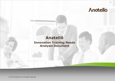 Innovation Training Needs Analysis Tool from Anatellô